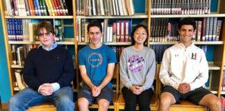 HHS Merit Scholarship students