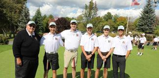 HHS golf seniors