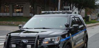 Hopkinton police cruiser