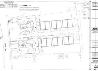 Design plans for Hopkinton Village development