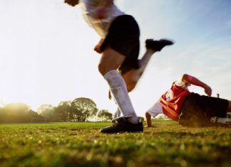 Generic soccer photo