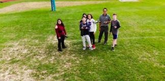 Hopkinton High School students fly drones