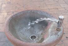 Water fountain stock