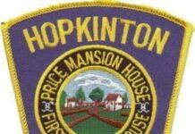 Hopkinton Police patch