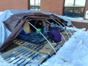 HHS robotics tent