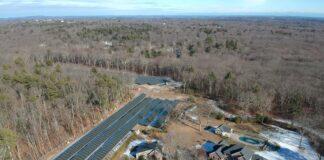 Lumber Street solar array