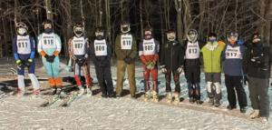 HHS boys ski team