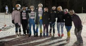 HHS girls ski team