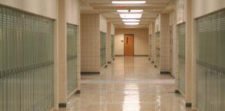 Hopkinton High School hallway