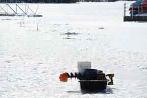 Ice fishing items