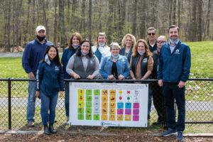 Autism sign ceremony at EMC Park