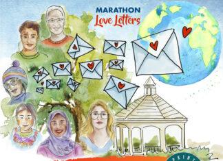Marathon love letters poster