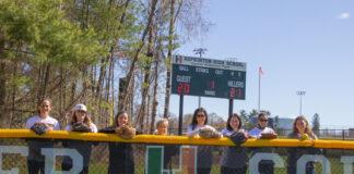 HHS softball field re-dedication