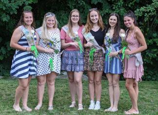 Girl Scout graduates