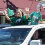 HHS graduation car parade
