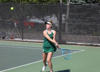 HHS girls tennis