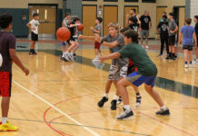 Rec boys basketball camp