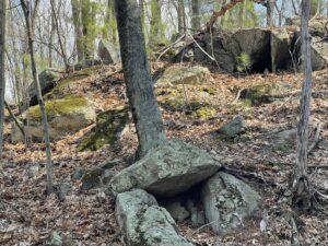 Rocks at Grasshopper solar site