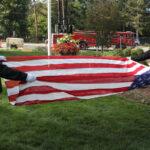 American flag folding