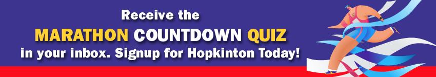 Marathon Countdown Quiz