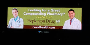 Hopkinton Drug billboard