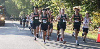 HHS boys cross country race
