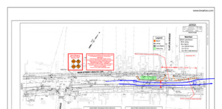 Main Street Construction Project map 10-15-21