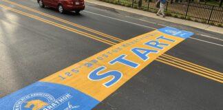 Boston Marathon start line