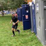 Marathon porta-potties