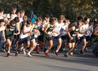 Hopkinton High School boys cross country
